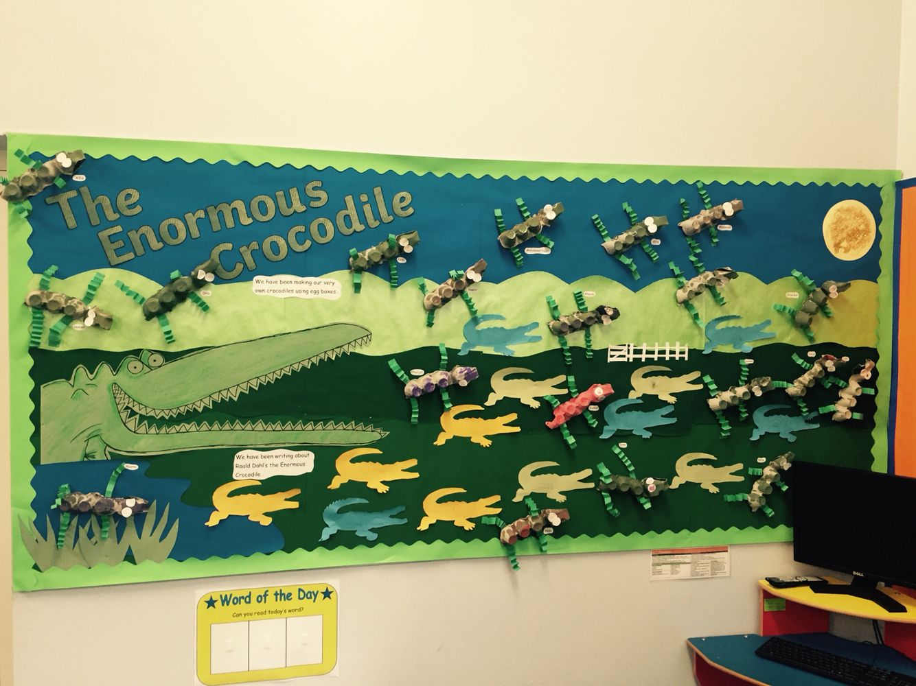 The Enormous Crocodile Eyfs Display The Children Made