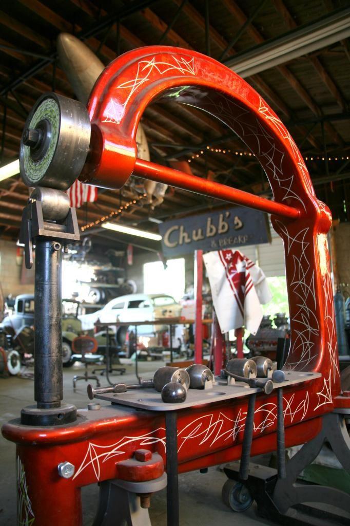 George Kendrick English Wheel Big The H A M B English Wheel Metal Working Tools Sheet Metal Tools