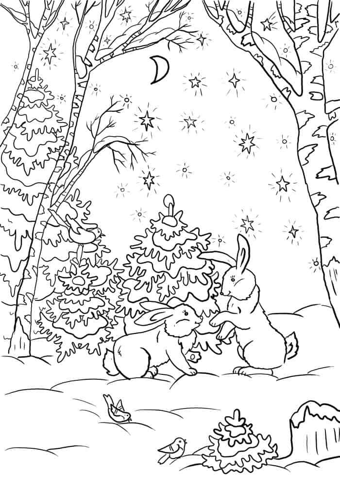 Winter Solstice Coloring Pages Animal Coloring Pages Coloring Pages Winter Curious George Coloring Pages