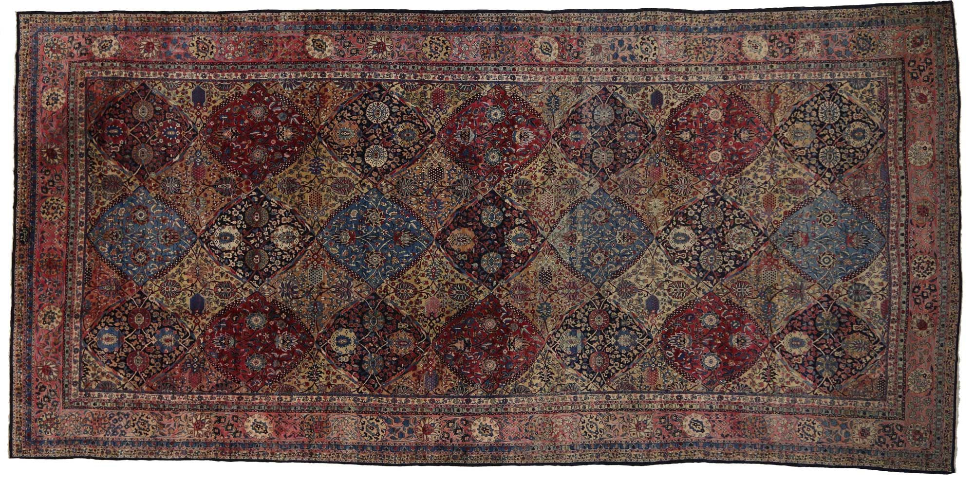 11 X 23 Antique Kerman Palace Rug 76837 Buying Carpet Carpet Runner Cheap Persian Rugs