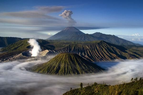 Indonesia's mountains of fire