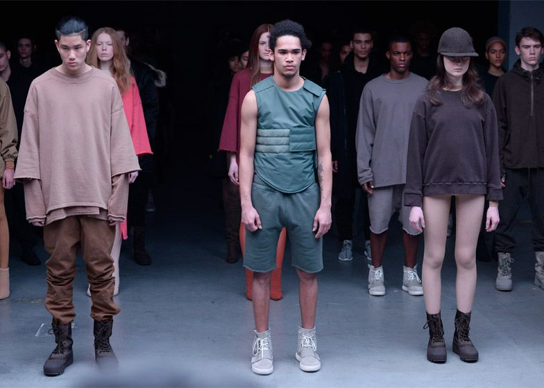 sports shoes 19739 1d349 Kanye West debuts his first Adidas collection and describes ...