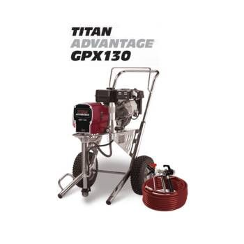 0509038 Titan Advantage Gpx 130 Airless Paint Sprayer Paint Sprayer Sprayers Titans