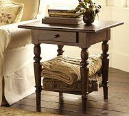 Tivoli Side Table - Tuscan Chestnut stain