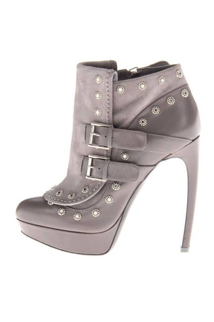 Stiletto Booties Boots - Spike-Heeled Booties - ELLE ... amazing. and WAY out of my budget :(