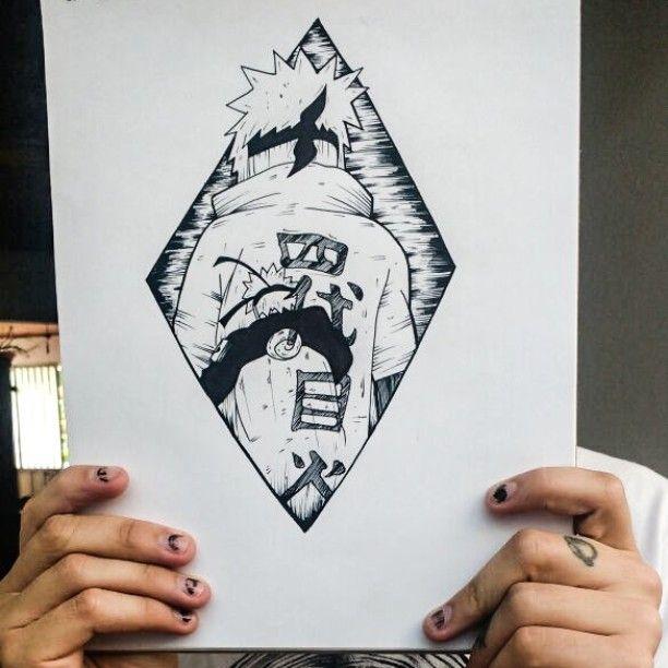 Diseño Basado En Narutoshippuden Tattoo Tattooer Naruto