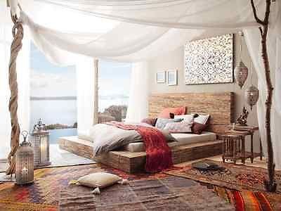 ehebett bett 180x200 massivholz doppelbett mango braun. Black Bedroom Furniture Sets. Home Design Ideas