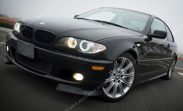 Painted Bmw E46 Facelift Matte Black Grille Coupe 2d With Images