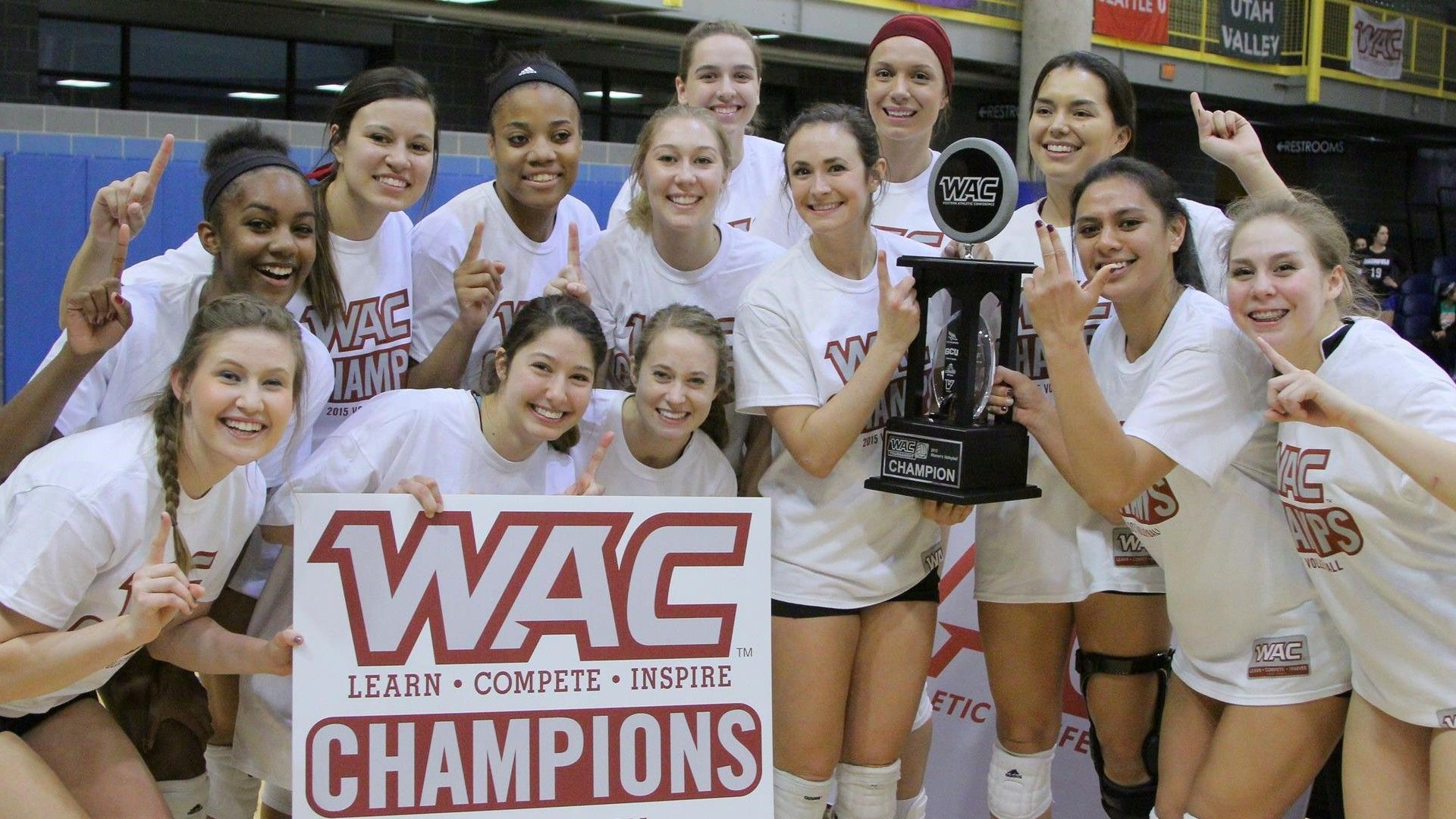 Nm State Volleyball Brings Home Wac Tournament Championship Volleyball News New Mexico State University Athlete