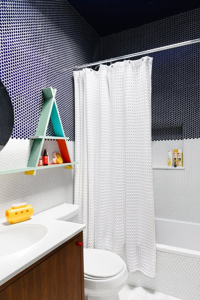 This Tile Trick Is a Game-Changer for Budget Bathrooms   Floor tile ...