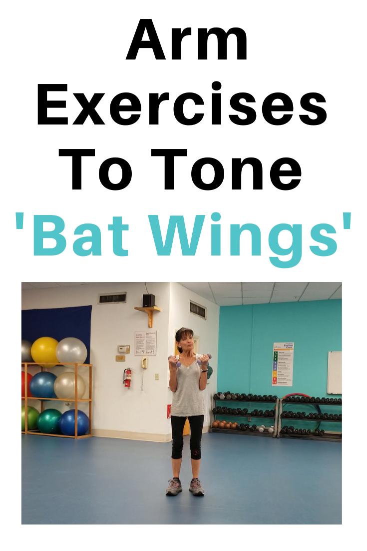 Tone Bat Wings Under Arms
