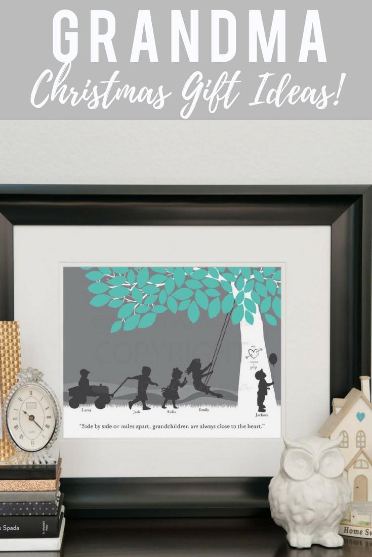 fef67ca1 Make grandmas christmas shine with this custom gift of her grandchildren  made especially for her. This christmas gift is sure to make grandma so  happy and ...
