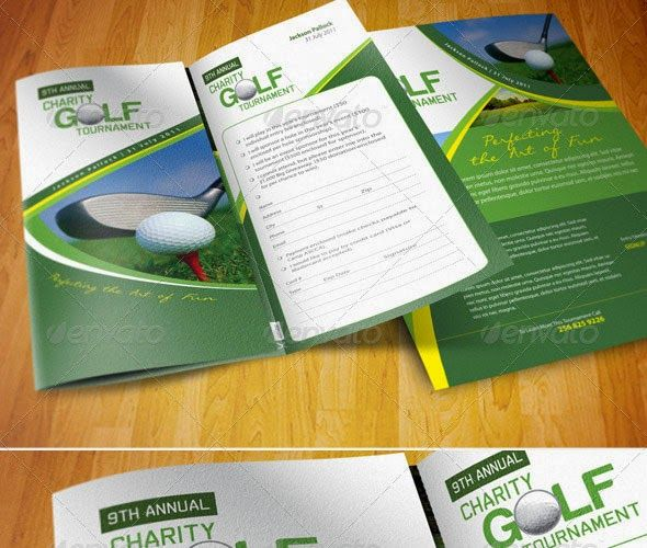 golf tournament flyer template Awesome Golf Tournament Flyer - golf tournament flyer template