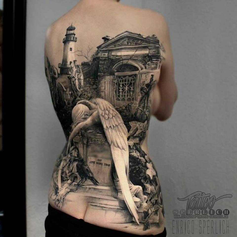 Tattoo ideas back piece  amazing d tattoo designs for women  tattoo  pinterest
