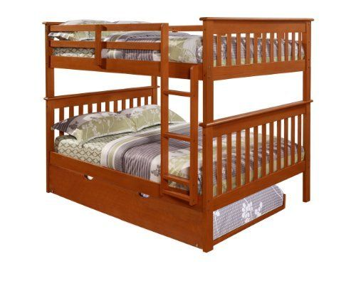 Bunk Bed Full Over Full With Trundle In Espresso Http Www Furnituressale Com Bunk Bed Full Over Full With Bunk Beds With Stairs Bunk Beds Bunk Bed With Desk