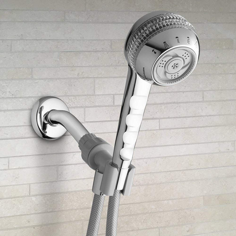 Hand Held Shower Head With 6 Spray Settings Including The