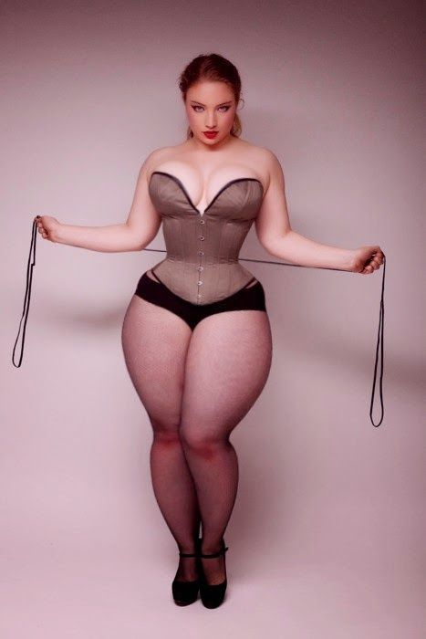 women hips Curvy with wide