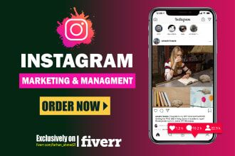 Fiverr / Search Results for 'instagram marketing' in 2020   Instagram marketing. Fiverr. Social media marketing services