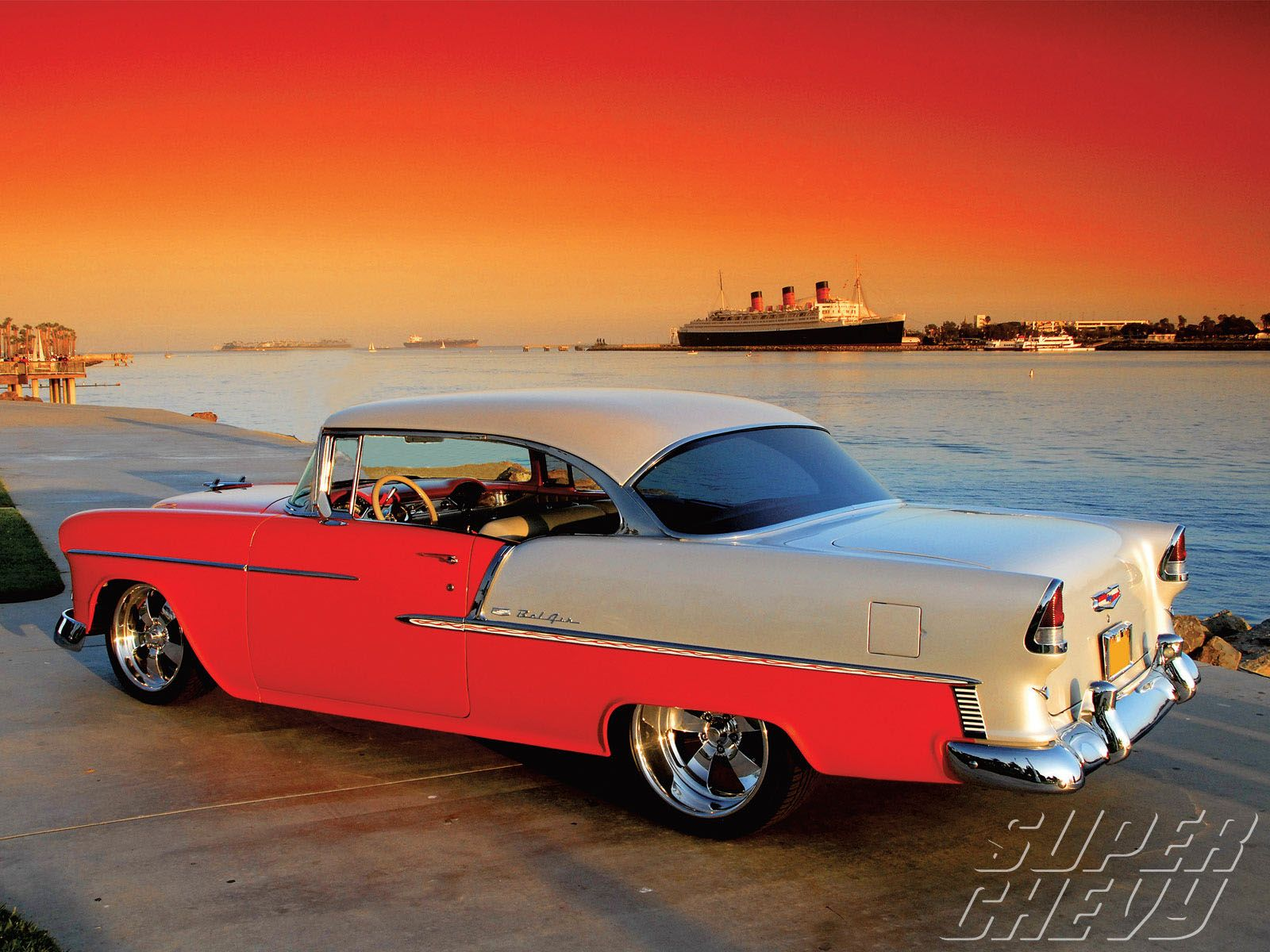 To own a 1955 chevy belair 2 door hardtop
