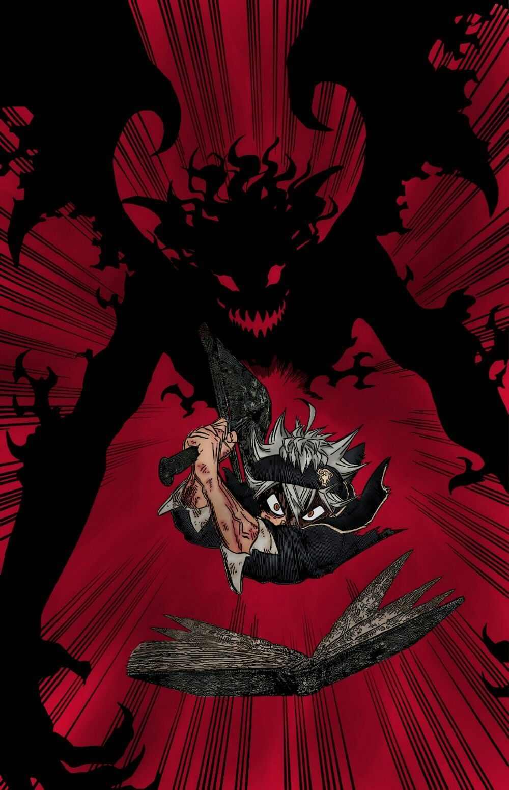 Papel de parede do anime Black Clover para celular / 7 wallpaper do anime Black Clover em HD