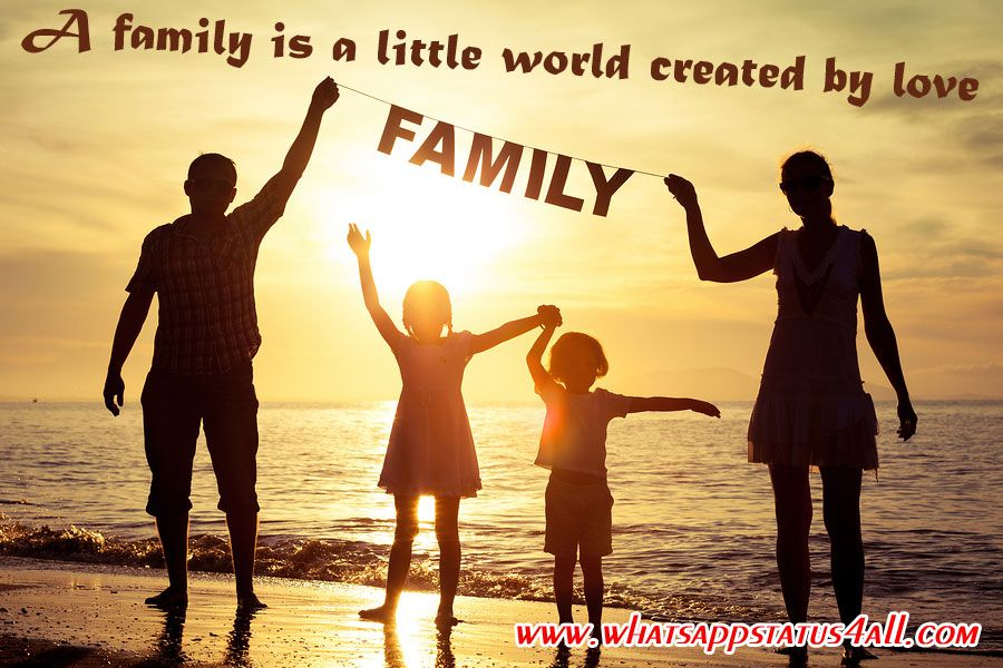 Family Status For Whatsapp In English Family Whatsapp Status