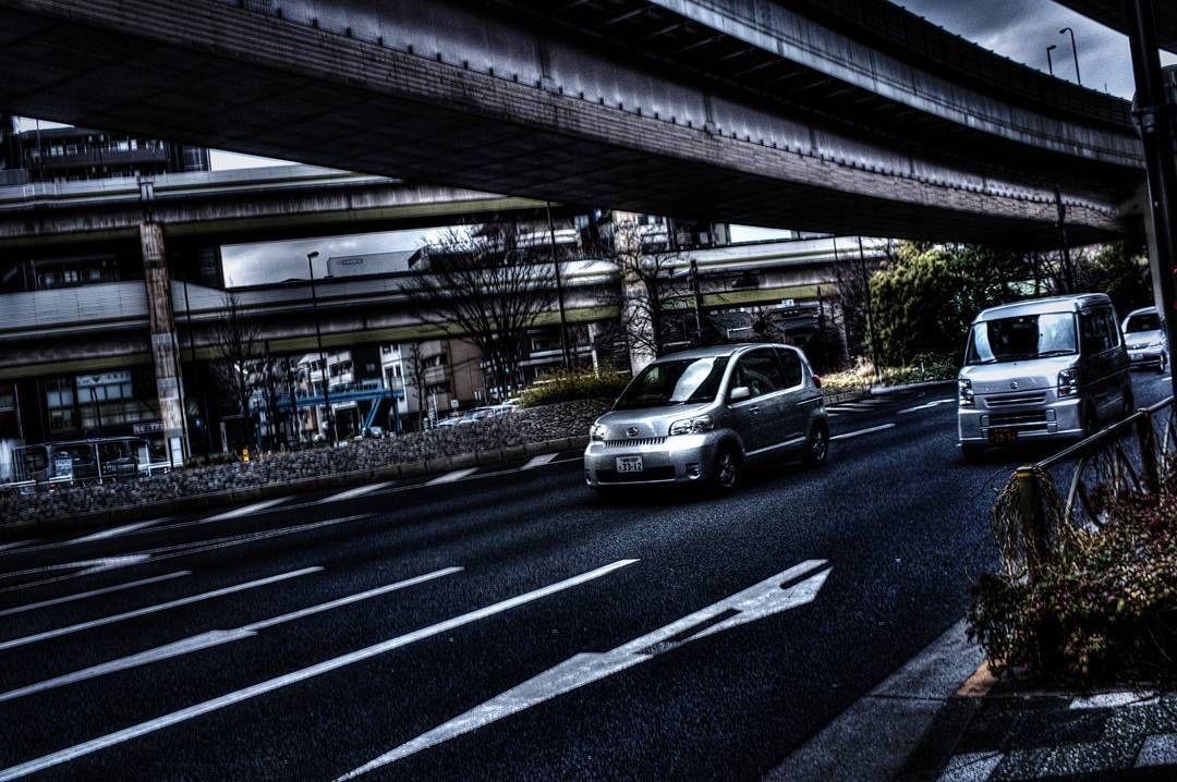 ブルルン Vroom. #myphotography #amaturehdr #hdrpractice #hdr #hdrphotography #日本 #東京 #みち #まち #くるま #photographylovers #photographyislife #streetphotography #cars #town #street #road #itabashi #tokyo #japan #travegirl #travelgram #travel #travelphotography #studyabroad #studyabroadjapan #tokyojapan #car by artsy_olive