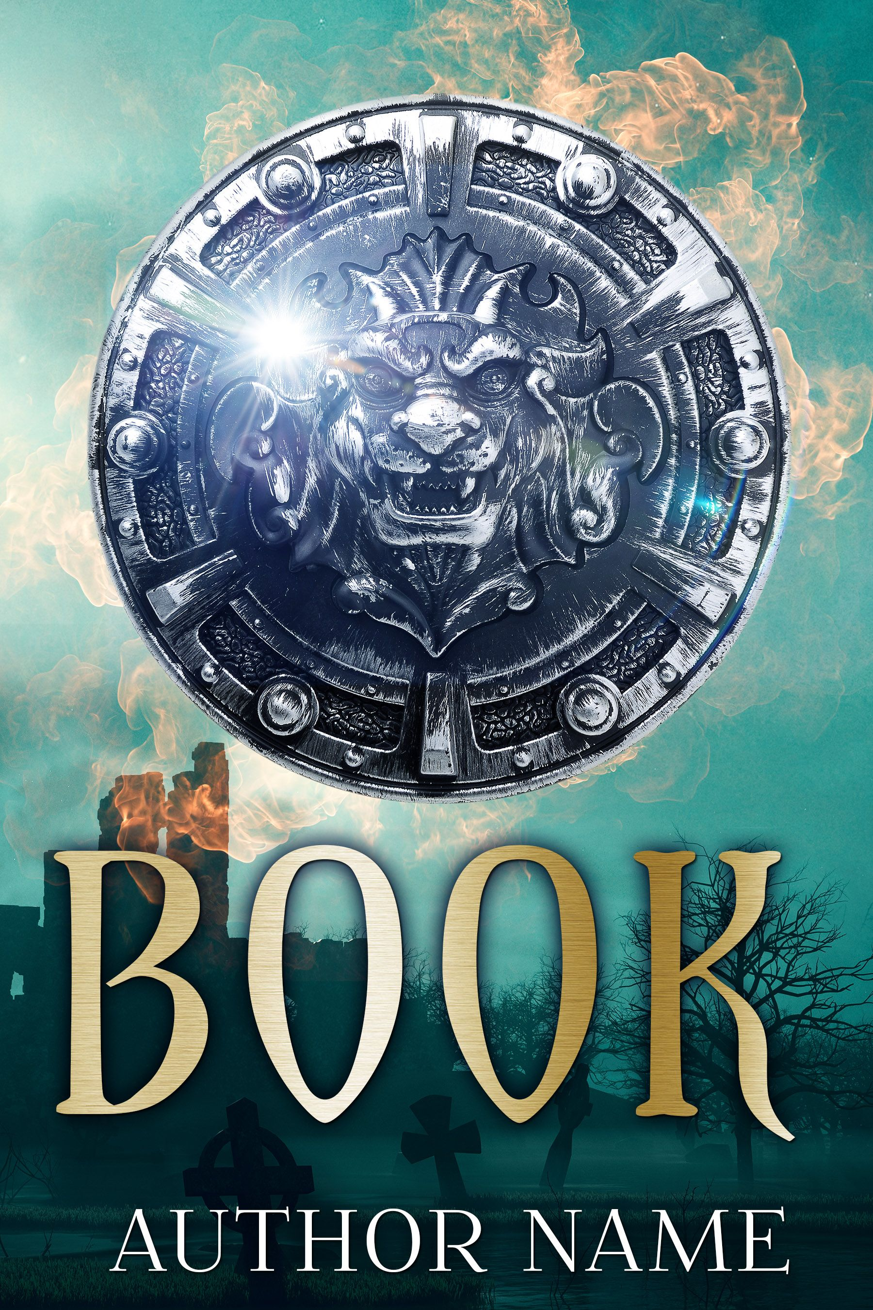 2017-151 Premade Book Cover for sale – affordable Book cover design for Paranormal, Fantasy, Science Fiction