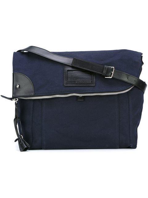 DSQUARED2 'John' Shoulder Bag. #dsquared2 #bags #shoulder bags #leather #cotton #