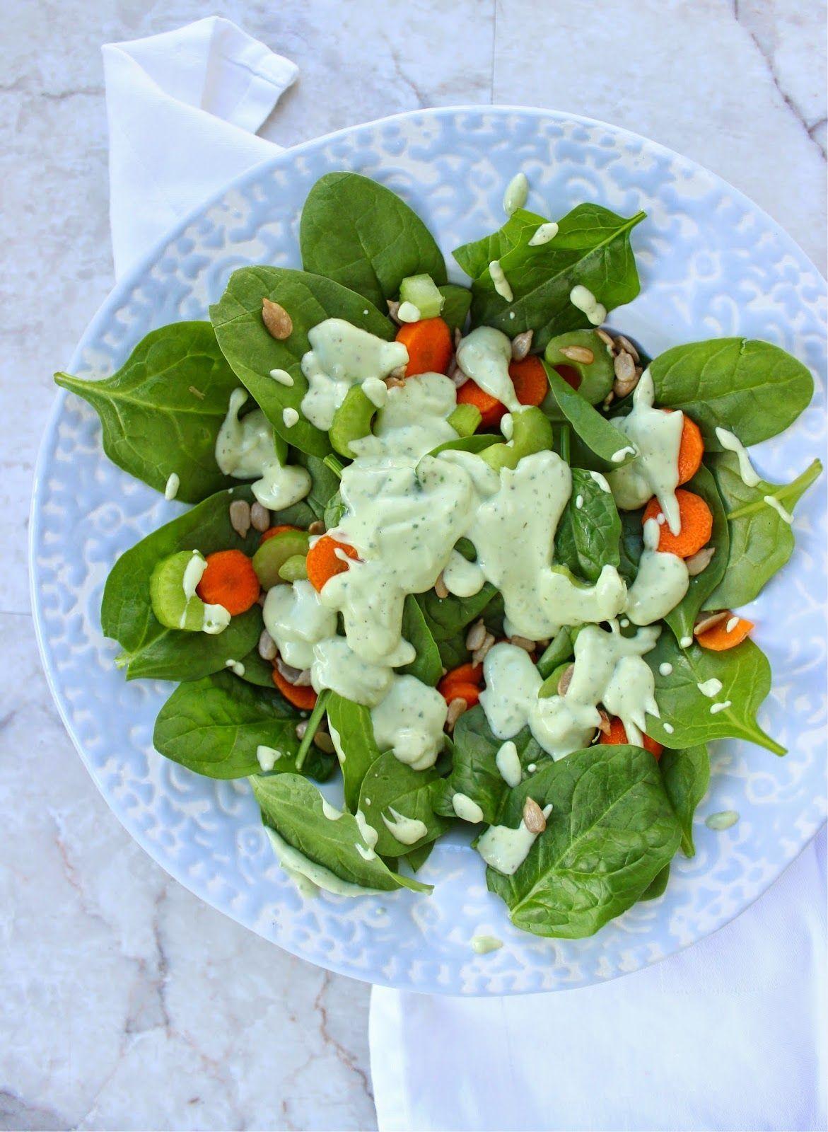 Healthy homemade avocado ranch dressing homemade avocado