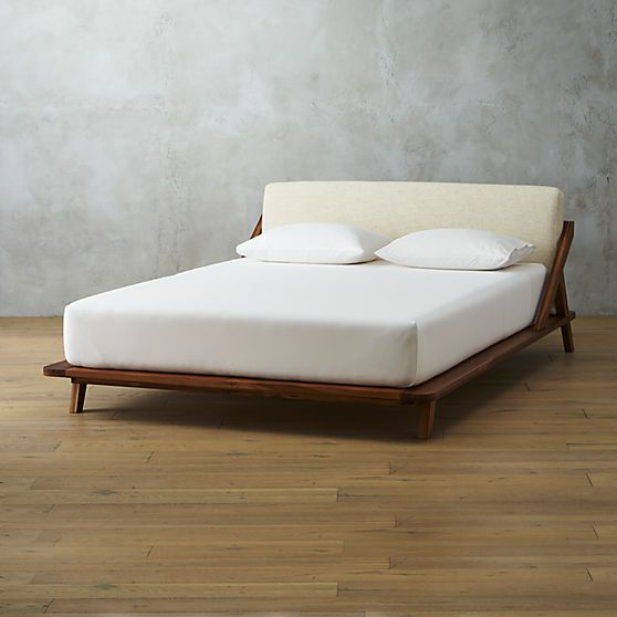 Drommen Queen Bed Modern Bedroom Furniture And Eclectic