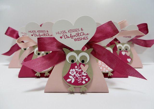 Lynn39s Locker Stampin39 Up Owl Love Blossoms Curvy