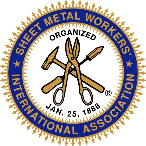 Sheet Metal Workers Metal Workers Sheet Metal Union Logo