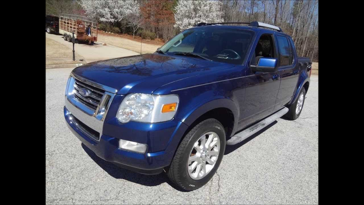 2007FordExplorerSportTracLimited Ford explorer