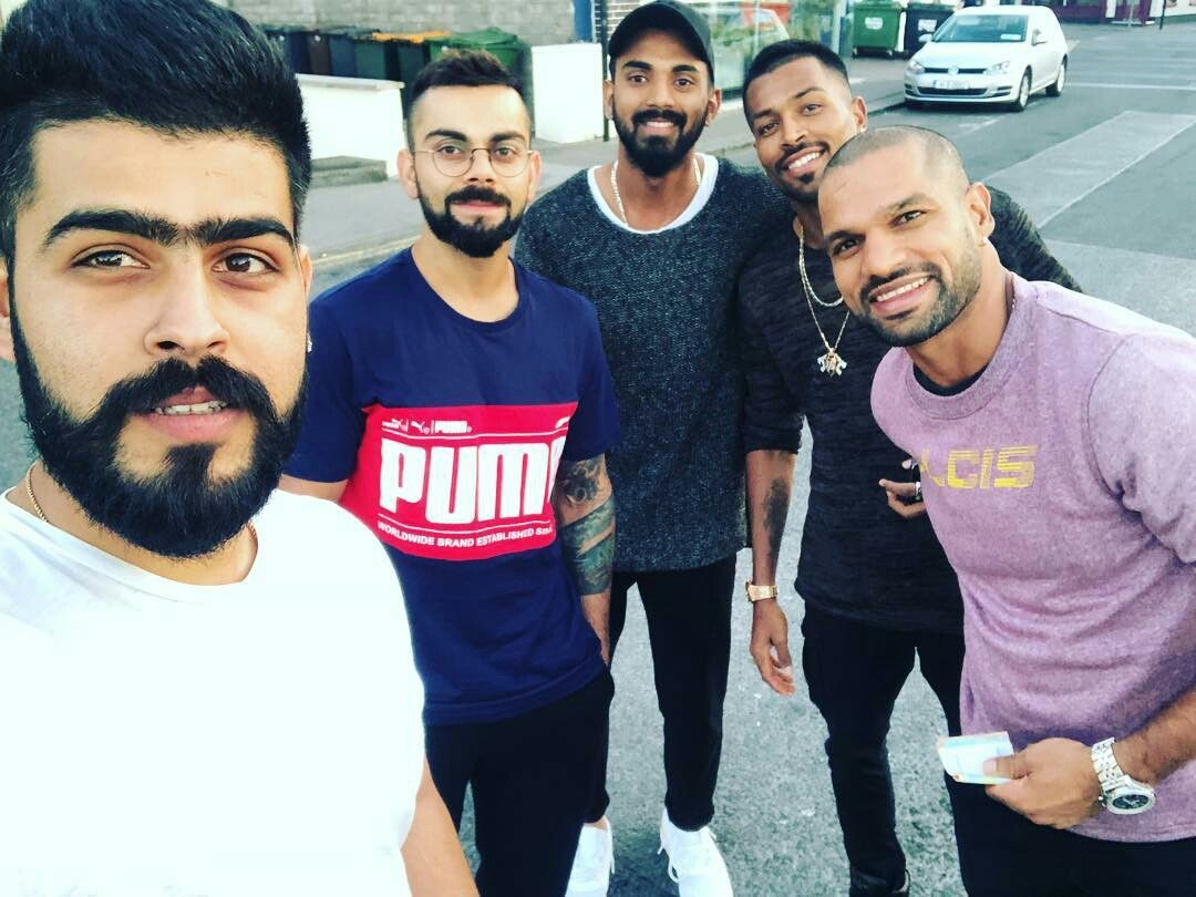 Yeah Brother Virat Kohli Brother From Another Mother