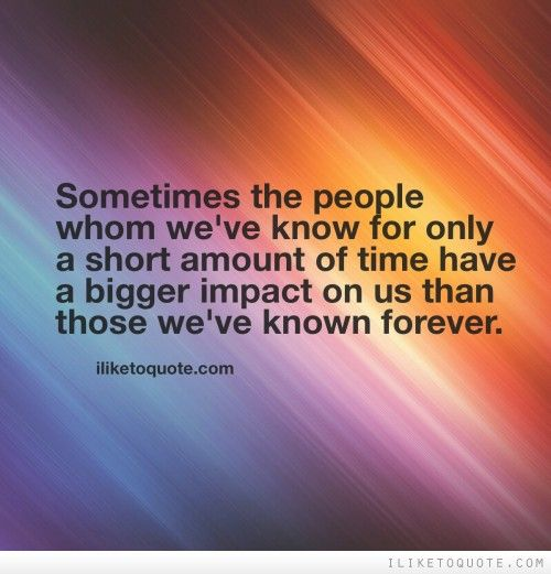 short time friendship quotes