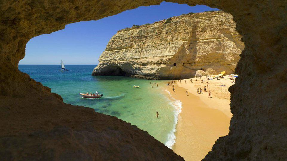 """Beach Near Carvoeiro, Algarve, Portugal""    #SunKuWriter Free Books http://sunkuwriter.com"