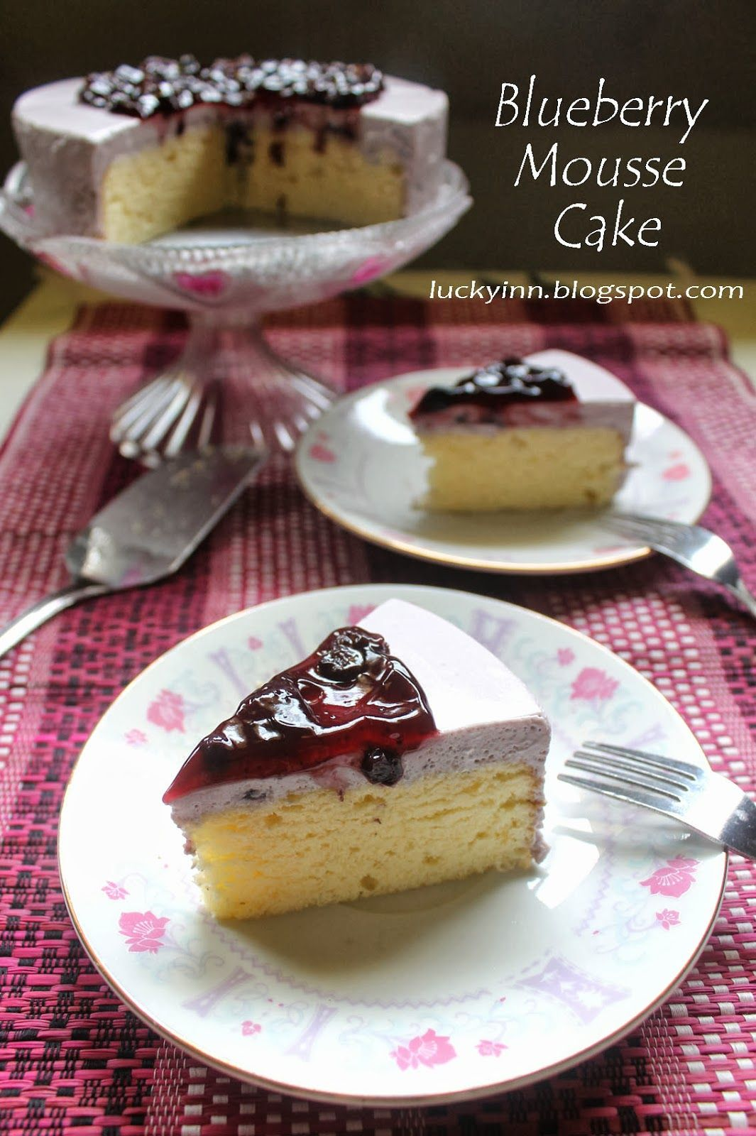 蓝莓慕斯蛋糕 Blueberry Mousse Cake Mousse cake, Desserts, Cake