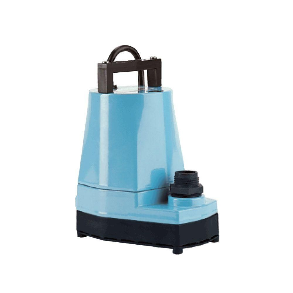 Little Giant 5 Msp 1 6 Hp Small Submersible Only Utility Pump Submersible Utility Pump Hydroponics Little Giants