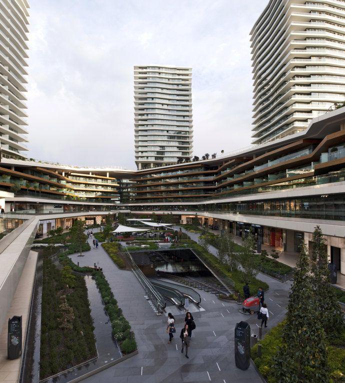 【商業綜合體景觀】伊斯坦布爾佐魯中心Zorlu<wbr>Center/Emre<wbr>Arolat<wbr>Architects<wbr>+&nb