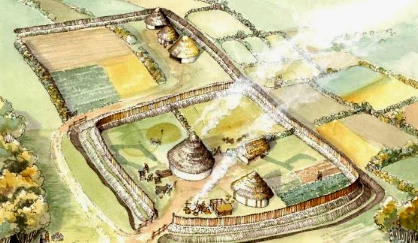 10000 year old settlement discovered in co cork ireland
