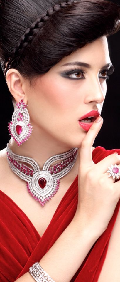 Dripping in Jewels