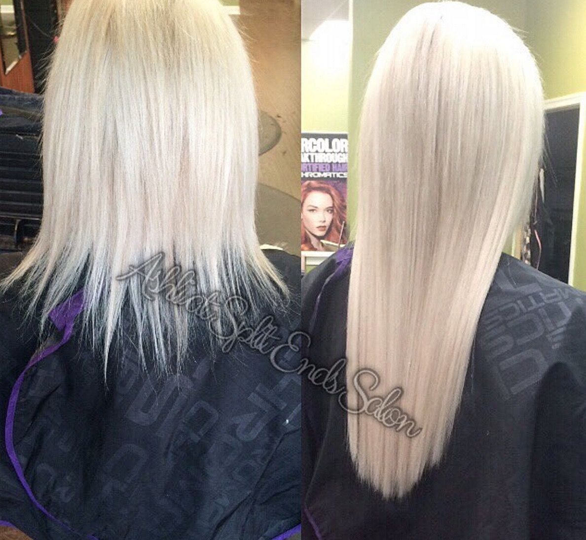 Did You Get Your Glam Seamless Transformation Using Tape In Hair