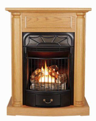 Kozy World Gfd2520 Windsor Gas Fireplace Dual Fuel On Sale Vent