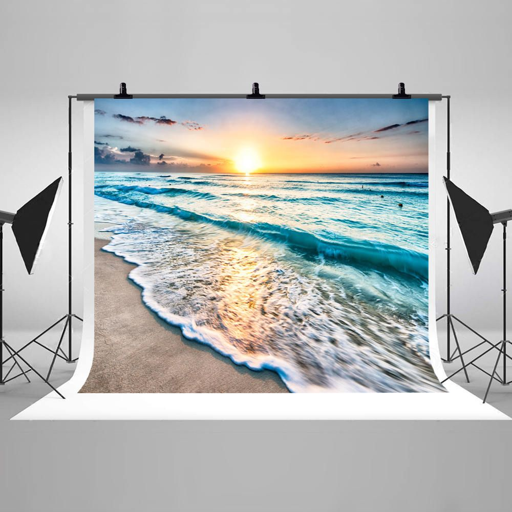 10x15 FT Backdrop Photographers,Cool Sunset Over River Horizon Magical Landscape Phenomenal Physical Event Theme Background for Kid Baby Artistic Portrait Photo Shoot Studio Props Video Drape