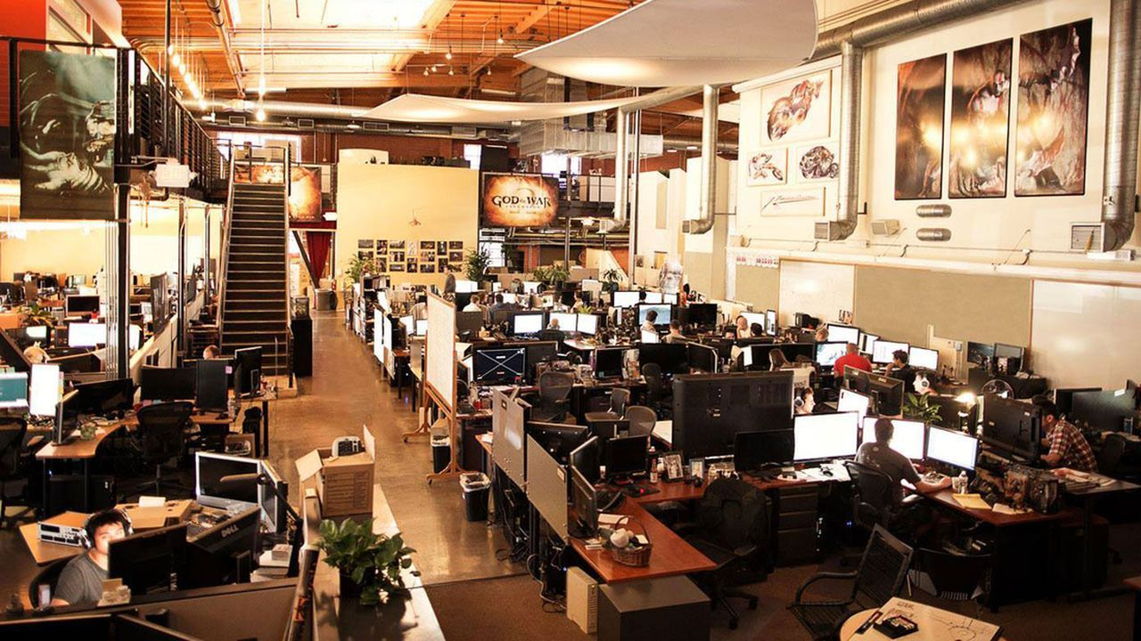 naughty dog workspace - Google Search   Office Inspiration