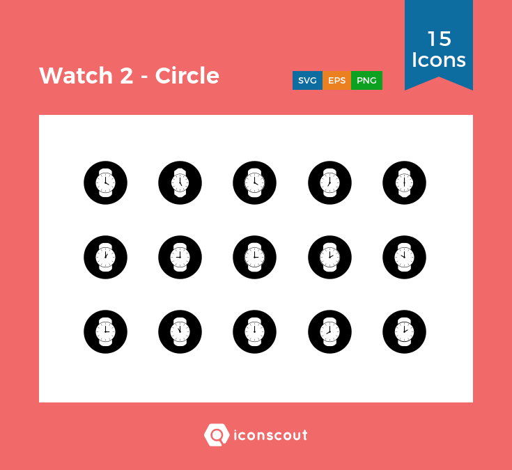 Download Watch 2 Circle Icon Pack Available In Svg Png Eps Ai Icon Fonts Icon Pack Icon Icon Font