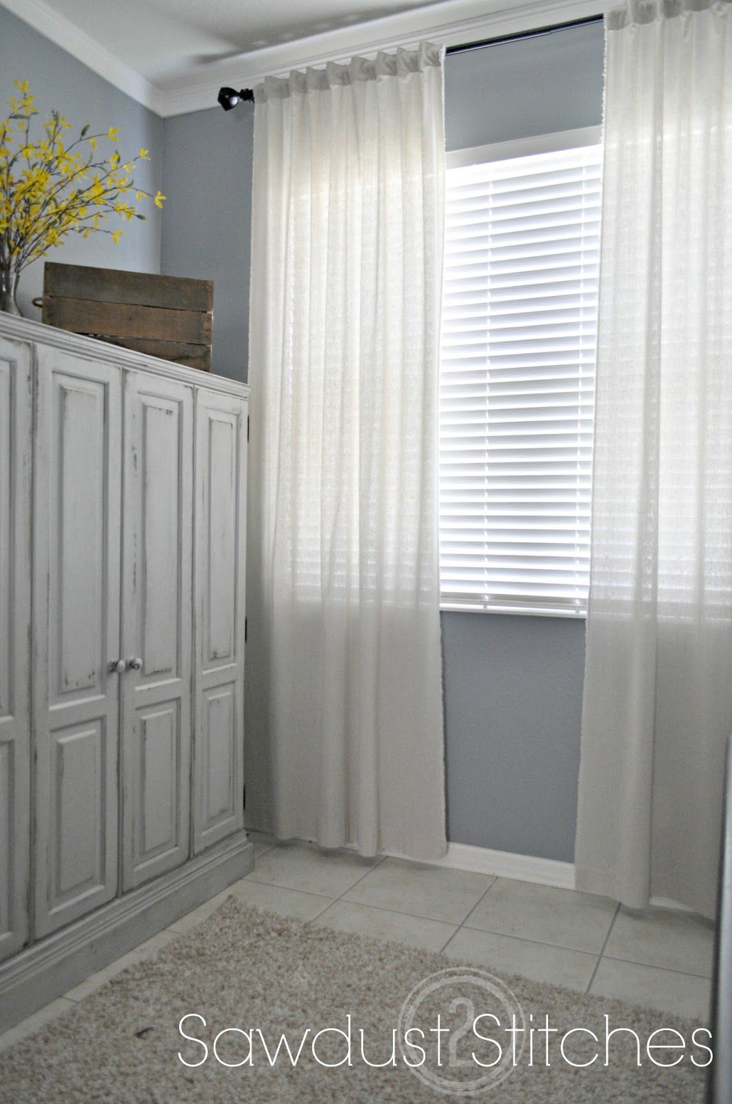 Anthropology Restoration Hardware Curtains DIY Cheap And Easy