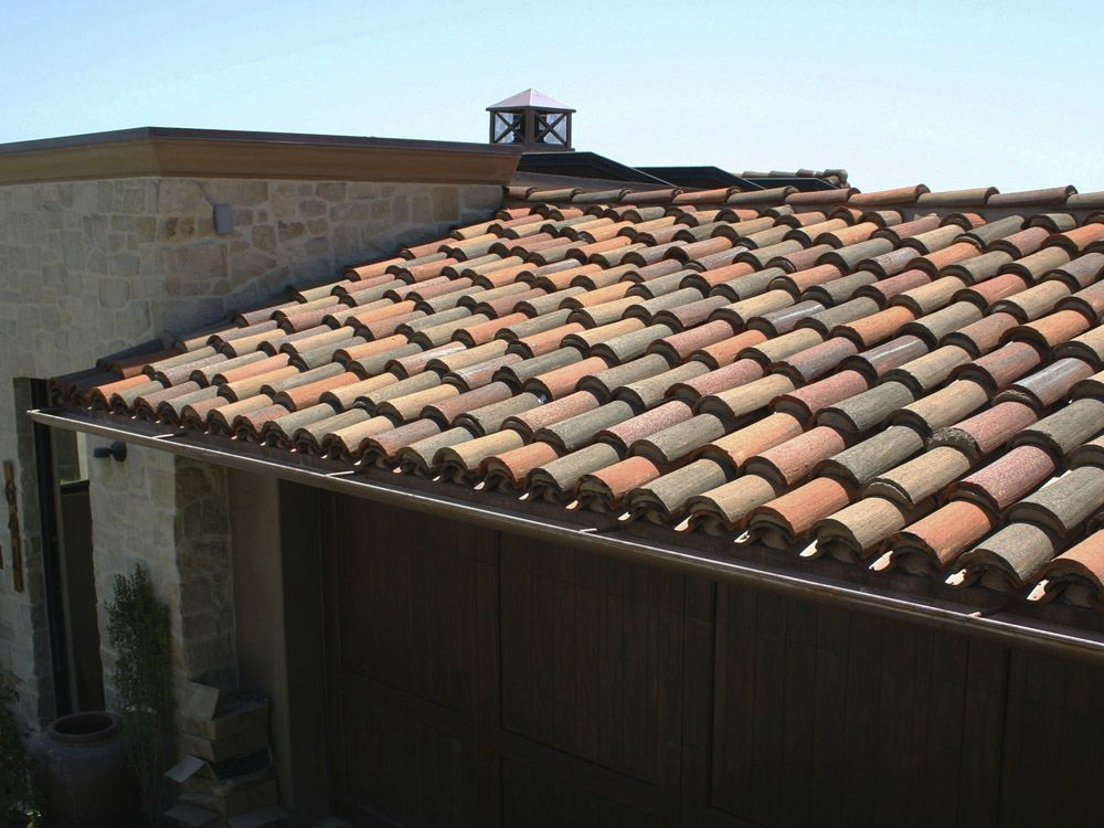 The best part is terracotta tiles retain their colors for for Barrel tile roof colors