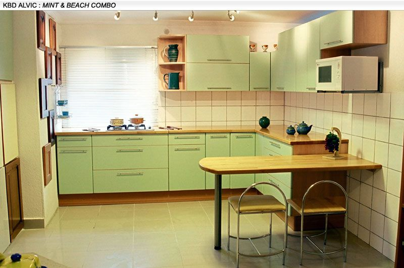 Small kitchen design indian style modular kitchen design for Best material for kitchen cabinets in india