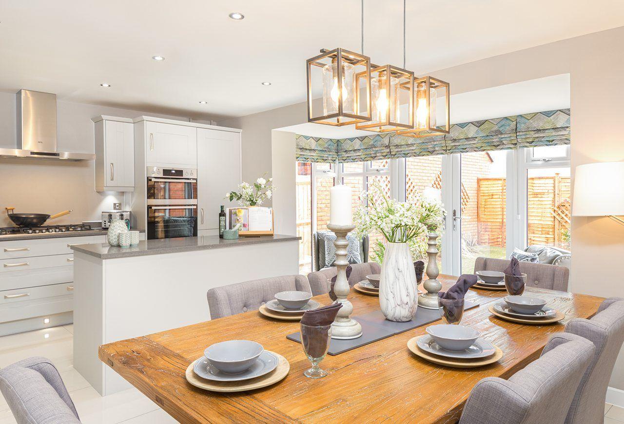 bayswater park view | Country kitchen, Open plan kitchen ...